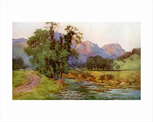 Yewdale Crags, Coniston, Cumbria by Cuthbert Rigby