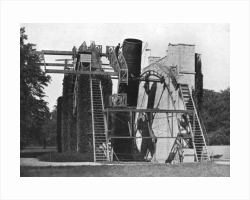 Lord Rosse's telescope, Birr, Offaly, Ireland by W Lawrence