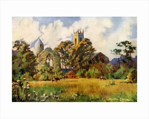 Dromiskin Church, County Louth, Ireland by Catharine Chamney
