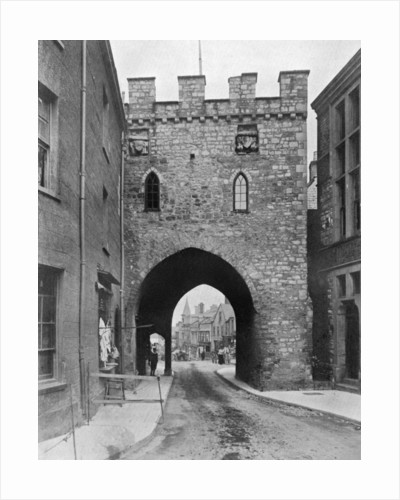 The Town Gate, Chepstow, Monmouthshire, Wales by Anonymous