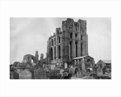 Tynemouth Priory, Northumberland by National Maritime Museum