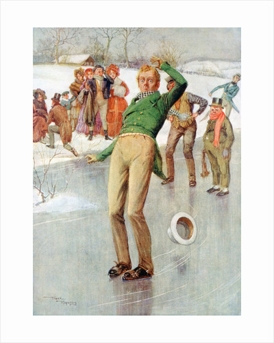 Mr Winkle on the Ice by Frank Reynolds
