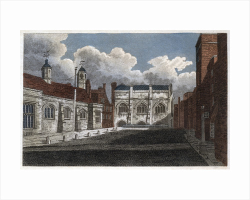 View of Lincoln's Inn Hall and Chapel, London by Pals