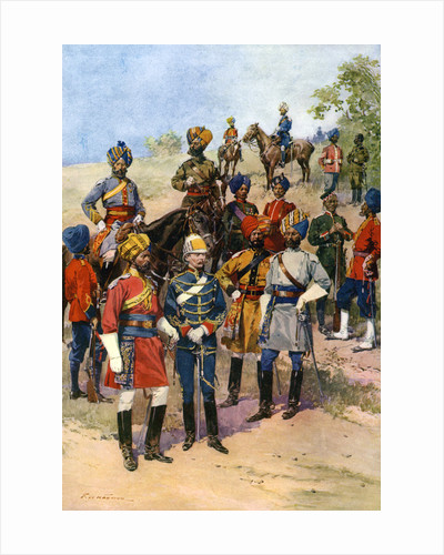 The King's 'Own' Regiments of the Indian Army by Frederic de Haenen
