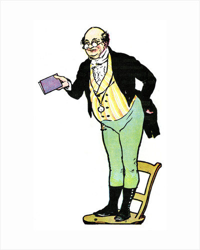 Mr Pickwick, from The Pickwick Papers by Charles Dickens by Anonymous