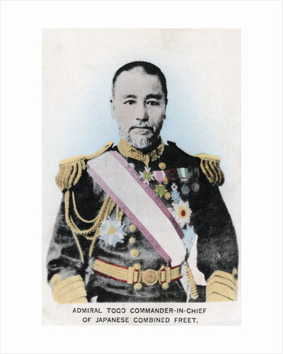 Admiral Togo, Commander-in-chief of Japanese Combined Fleet by Anonymous