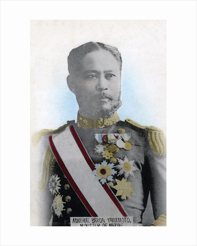 Admiral Yamamoto, Japanese Minister of the Navy by Anonymous