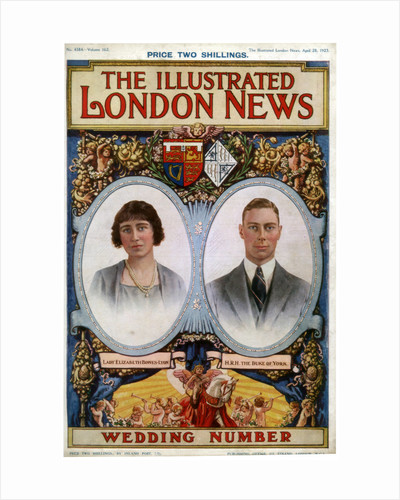 Front cover of The Illustrated London News Wedding Number by Anonymous