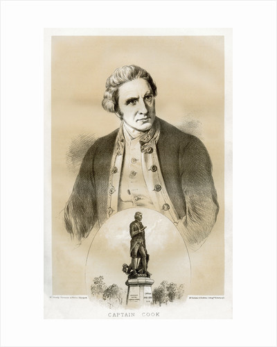 Captain James Cook, 18th century British naval officer and explorer by McFarlane and Erskine
