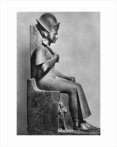 Rameses II (1279 BC-1213 BC), Ancient Egyptian Pharaoh, c1250 BC by Anonymous