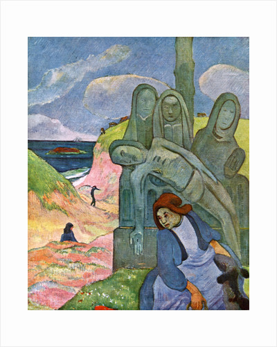 The Green Christ by Paul Gauguin