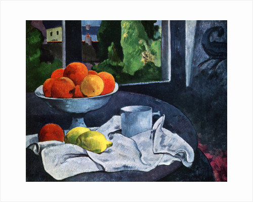 Still Life with Fruit, Brittany by Paul Gauguin