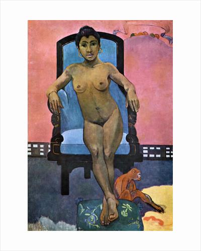 'Aita Tamari vahina Judith te Parari' (Annah the Javanese) by Paul Gauguin