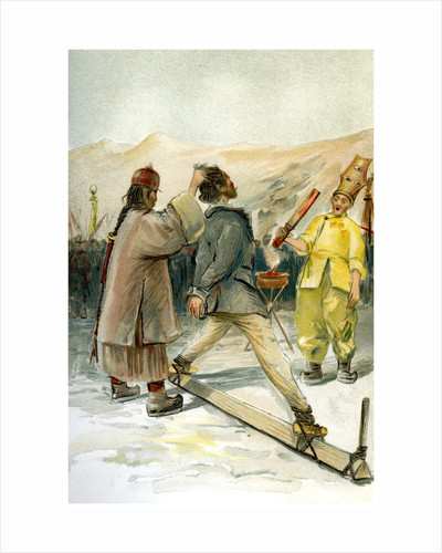 The hot iron torture by FA Brockhaus