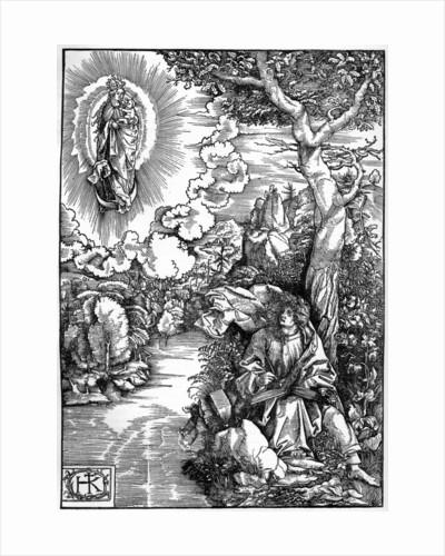 St John in Patmos by Hans von Kulmbach