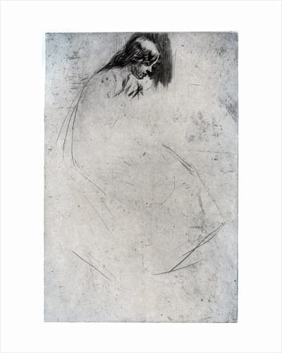 Fumette's Bent Head by James Abbott McNeill Whistler