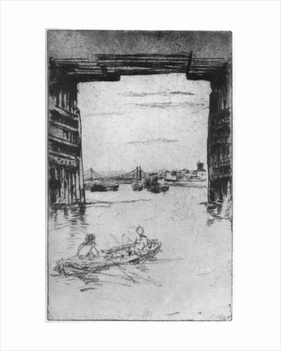 Under Old Battersea Bridge by James Abbott McNeill Whistler