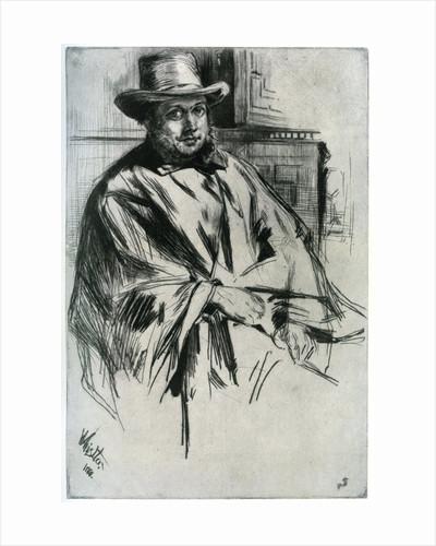 Mr Mann by James Abbott McNeill Whistler