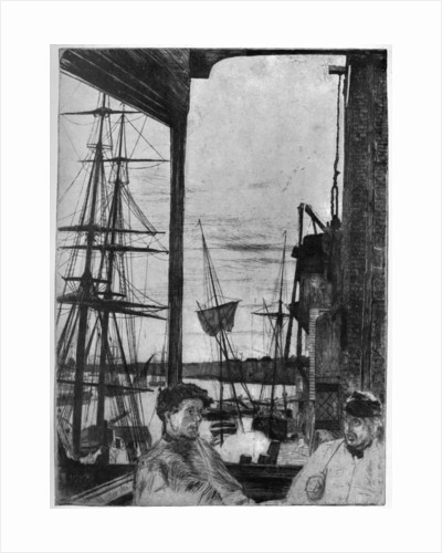 Rotherhithe by James Abbott McNeill Whistler
