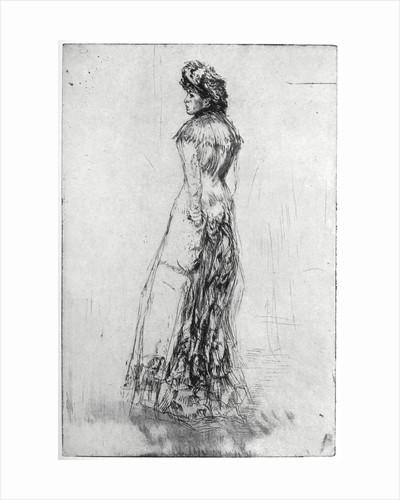 Maude, Standing by James Abbott McNeill Whistler