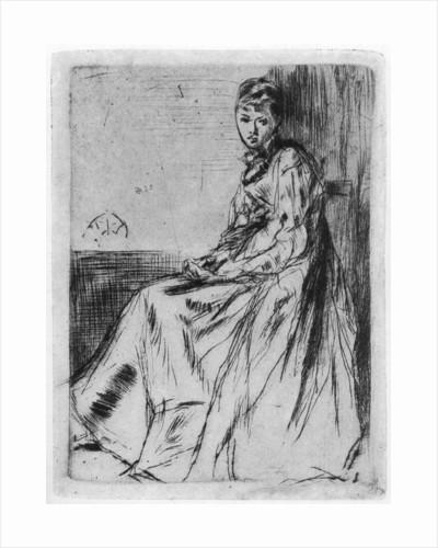 Maude, Seated by James Abbott McNeill Whistler