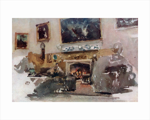 Moreby Hall by James Abbott McNeill Whistler