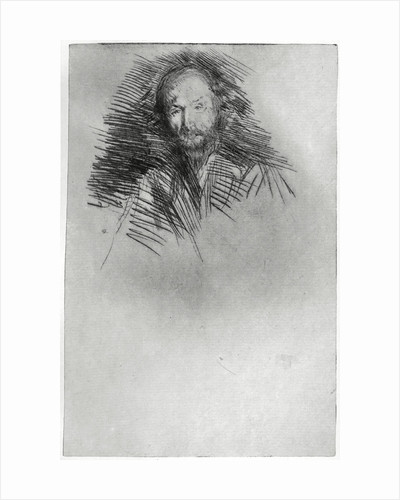 Swinburne by James Abbott McNeill Whistler