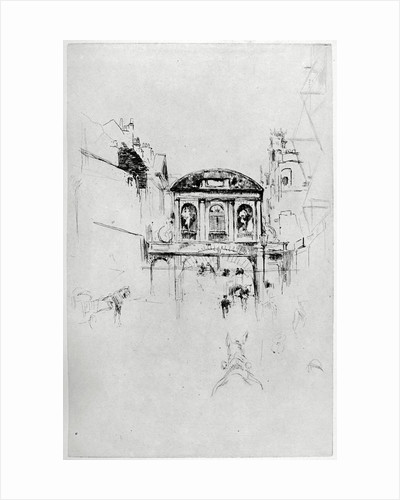 Temple Bar by James Abbott McNeill Whistler