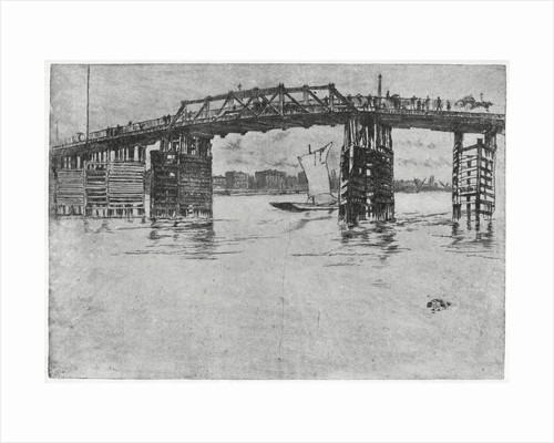 Battersea Bridge, London by James Abbott McNeill Whistler