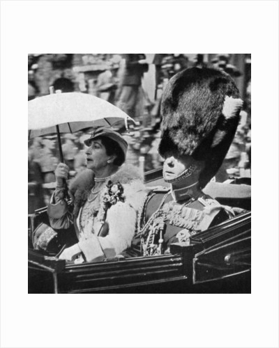 The future King Edward VII (1894-1972) and Queen Maud of Norway by Anonymous