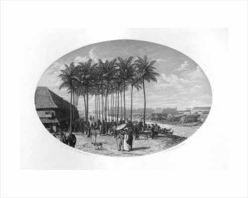 Foundation of Batavia, Java, Dutch East Indies by JH Rennefeld