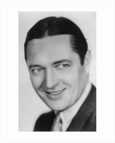 Edmund Lowe (1890-1971), American, actor and vaudeville star by Anonymous