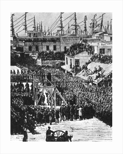 The hanging of Hetherington and Brace, San Francisco by Anonymous