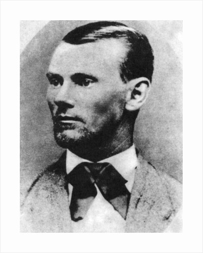Jesse James, American outlaw by Anonymous