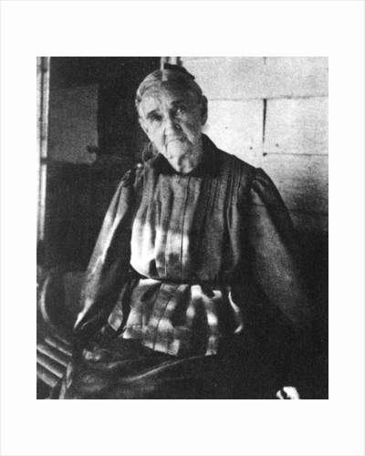 Zerelda Samuel, mother of American outlaws Jesse and Frank James by Anonymous