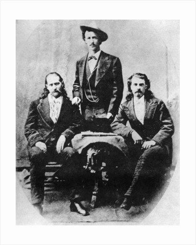 'Wild Bill' Hickok, 'Texas Jack' Omohundro and 'Buffalo Bill' Cody by Anonymous