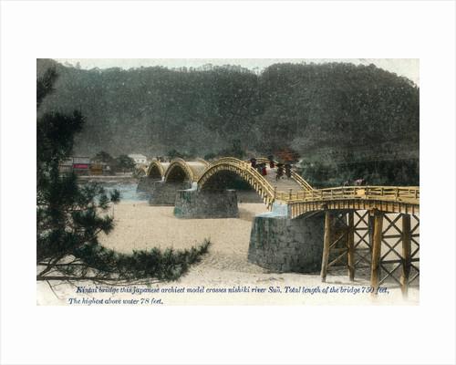 Kintai bridge Iwakuni, Japan by Anonymous