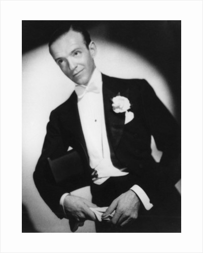 Fred Astaire, American dancer, actor and film star by Laszlo Willinger