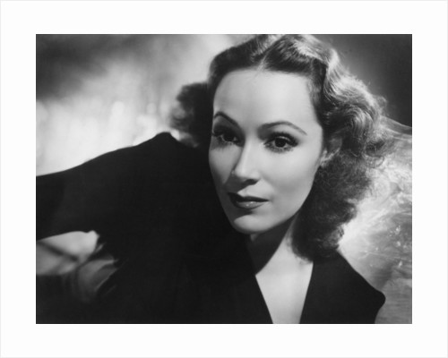 Dolores Del Rio, Mexican actress and film star by Laszlo Willinger