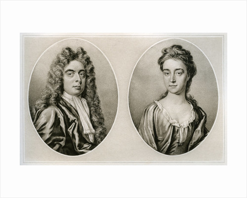 Portraits of the Duke and Duchess of Marlborough by Anonymous