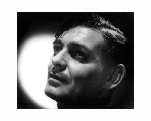 Clarke Gable, American actor and film star by Laszlo Willinger