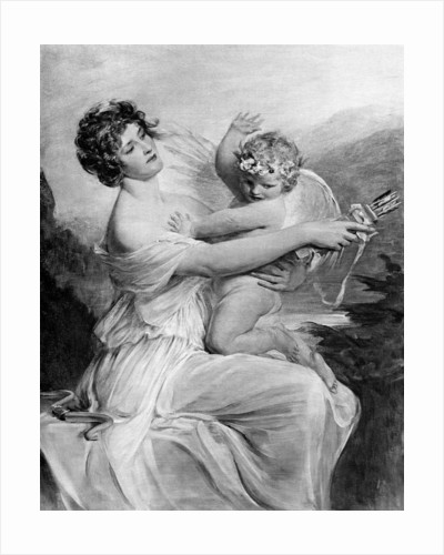 Captive Cupid by Anonymous