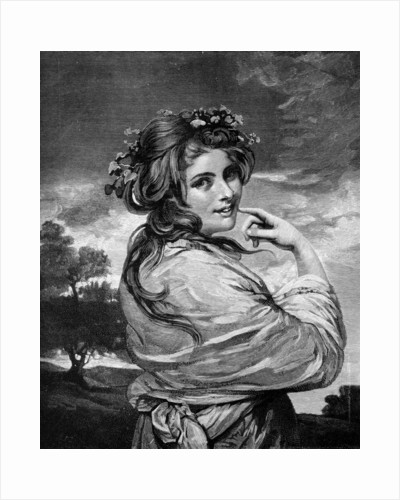 'Lady Hamilton as 'Nature'' by Anonymous