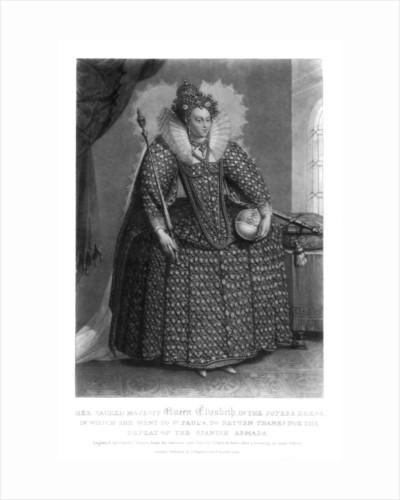 Queen Elizabeth I by Charles Turner