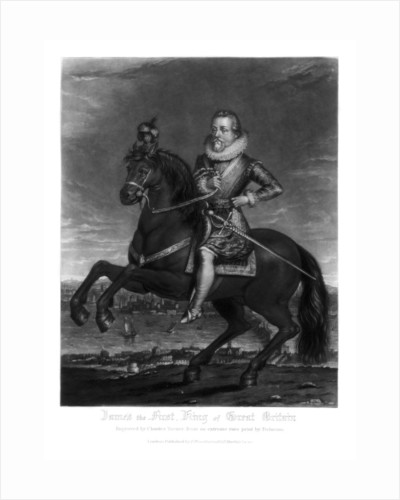 James I, King of Great Britain by Charles Turner