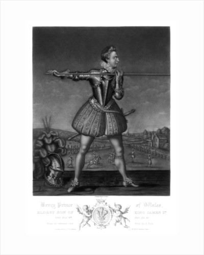Henry, Prince of Wales, eldest son of King James I by Robert Dunkarton