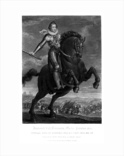 Frederick V, Elector Palantine by Charles Turner