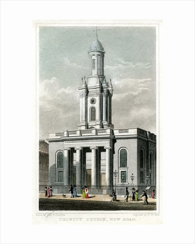 Trinity Church, Euston Road, St Pancras, London by HW Bond