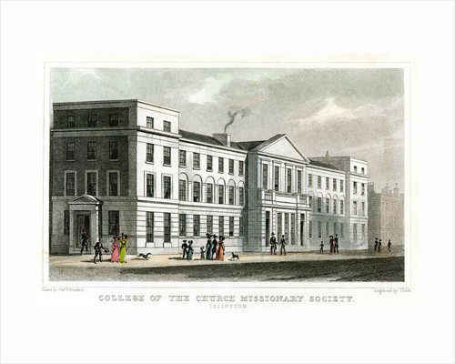 College of the Church Missionary Society, Islington, London by Thomas Dale