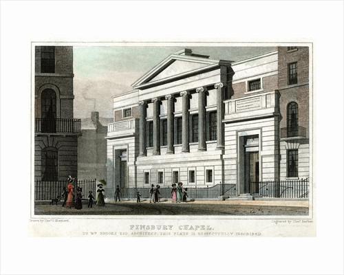 Finsbury Chapel, City of London by Thomas Barber